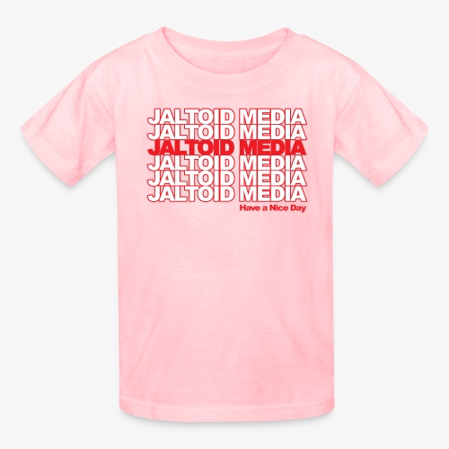 Jaltoid Media Novelty Red - Kids' T-Shirt