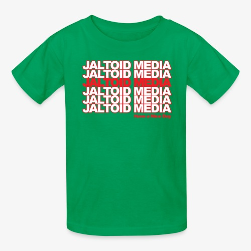 Jaltoid Media Novelty Red - Kids' T-Shirt