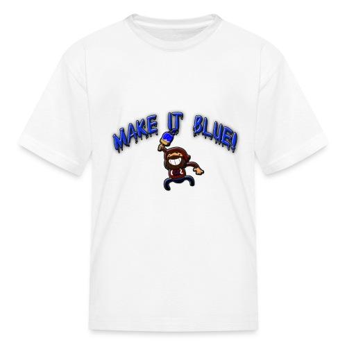 modii101 make it blue - Kids' T-Shirt