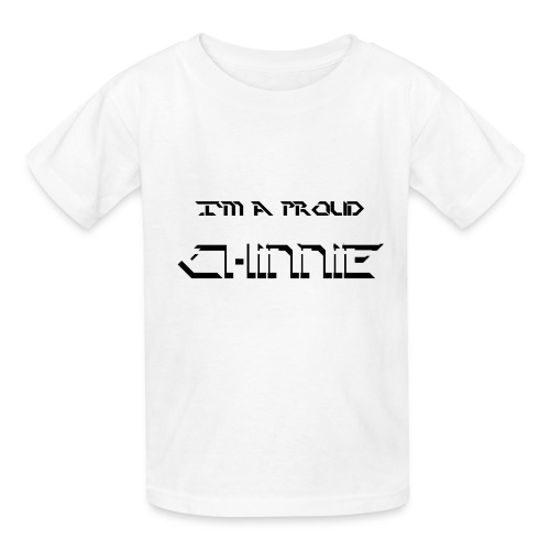 Chinnie SS png - Kids' T-Shirt