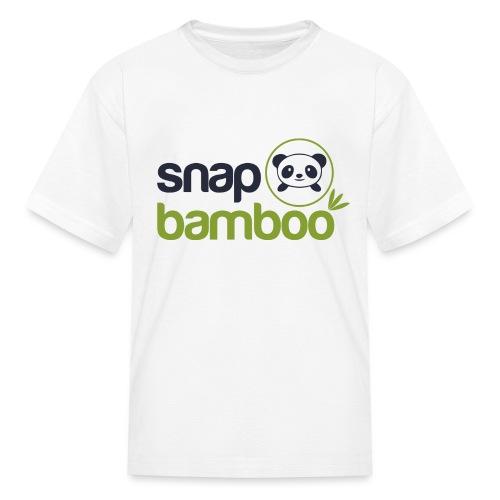 Snap Bamboo Square Logo Branded - Kids' T-Shirt