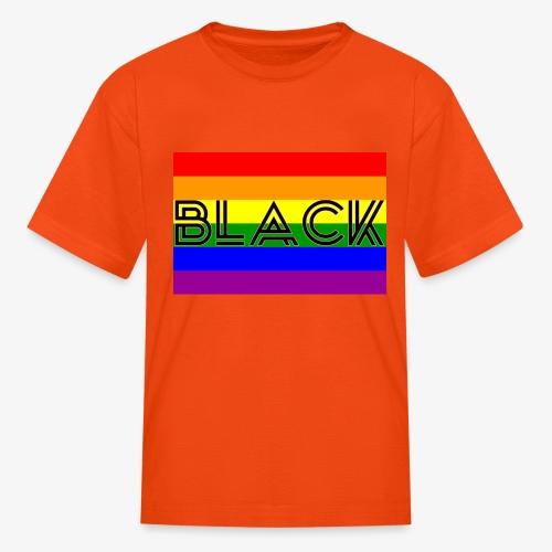 Black LGBTQ - Kids' T-Shirt