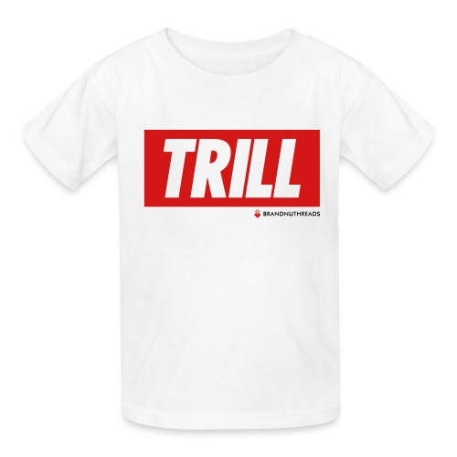 trill red iphone - Kids' T-Shirt