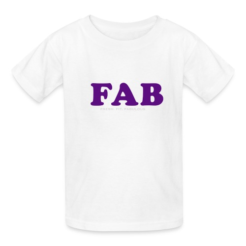 FAB Tank - Kids' T-Shirt