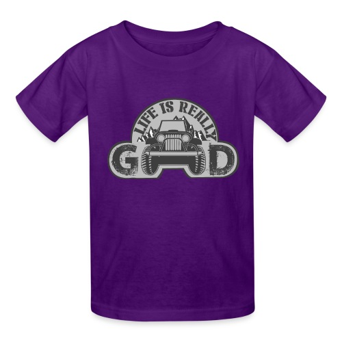 Life Is Really Good Jeep - Kids' T-Shirt