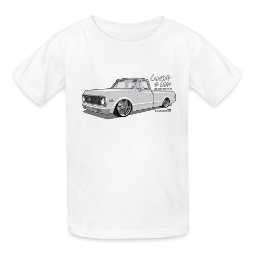 Long & Low C10 - Kids' T-Shirt