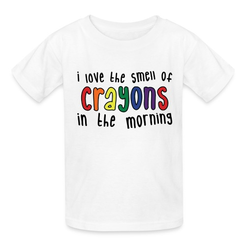 Crayons light - Kids' T-Shirt