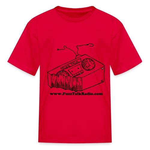 FTRLogoBlackAddress - Kids' T-Shirt