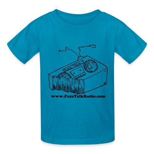 FTRLogoBlackAddress - Kids' T-Shirt