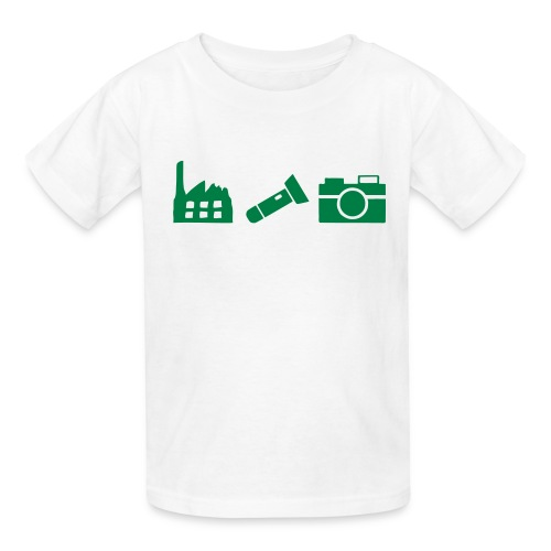 DCUE_Icons_Small - Kids' T-Shirt