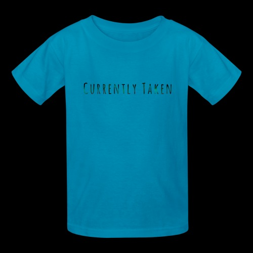 Currently Taken T-Shirt - Kids' T-Shirt