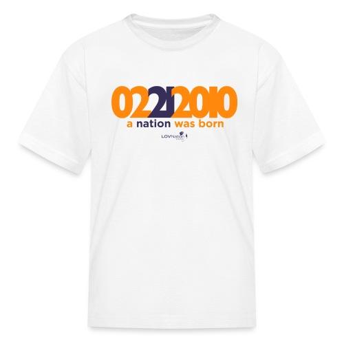 Anniversary Shirt - Kids' T-Shirt