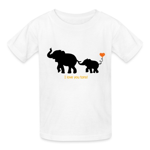 I Love You Tons! - Kids' T-Shirt