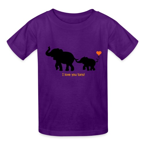 I Love You Tons! - Kids' T-Shirt