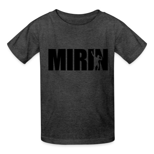 Zyzz Mirin Pose text - Kids' T-Shirt
