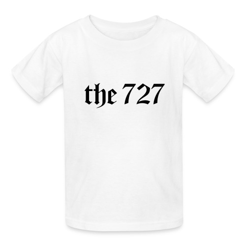 The 727 in Black Lettering - Kids' T-Shirt