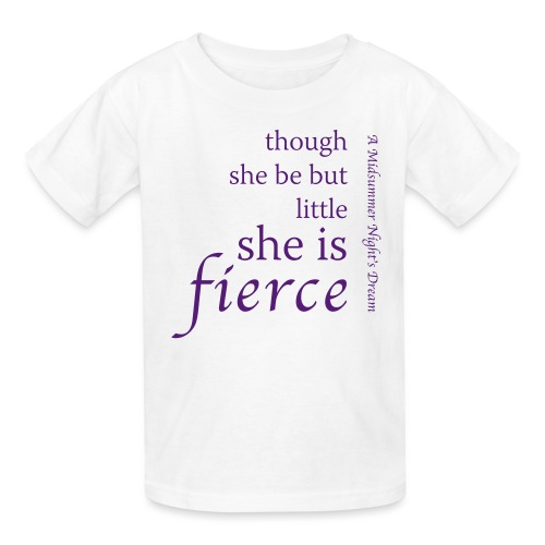 She Is Fierce Midsummer - Kids' T-Shirt
