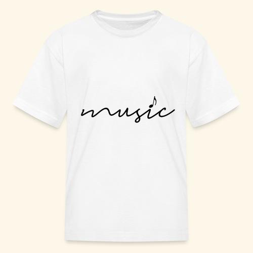 music tee - Kids' T-Shirt