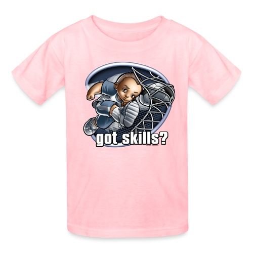 Got Skills Soccer by RollinLow - Kids' T-Shirt