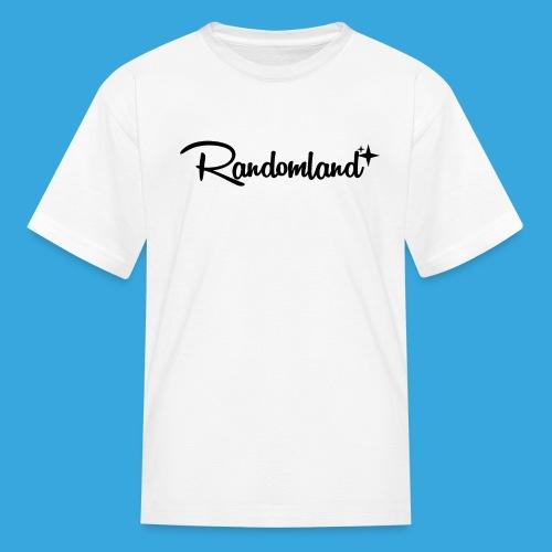 Randomland Black Logo - Kids' T-Shirt