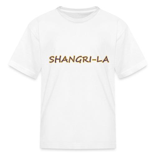 Shangri La gold blue - Kids' T-Shirt
