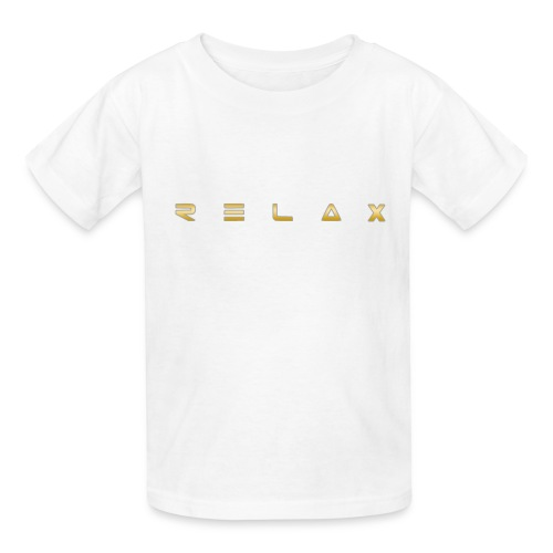 Relax gold - Kids' T-Shirt