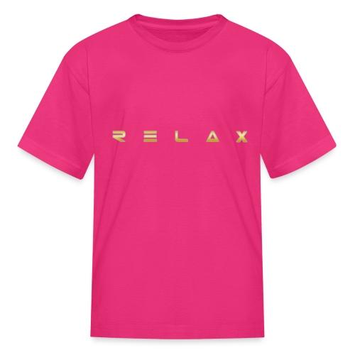 Relax gold - Kids' T-Shirt
