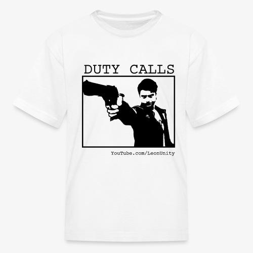 Duty Calls Don png - Kids' T-Shirt