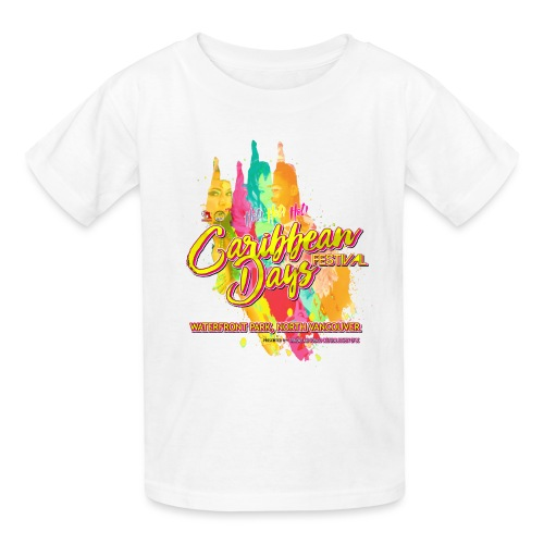Caribbean Days Festival = Hot! Hot! Hot! - Kids' T-Shirt