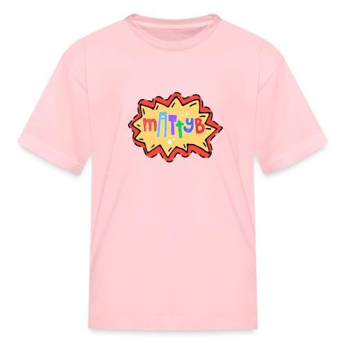 MattyBRaps Cartoon - Kids' T-Shirt