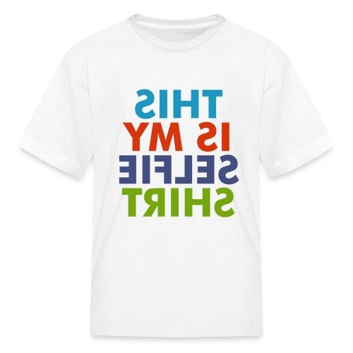 selfie shirt - Kids' T-Shirt