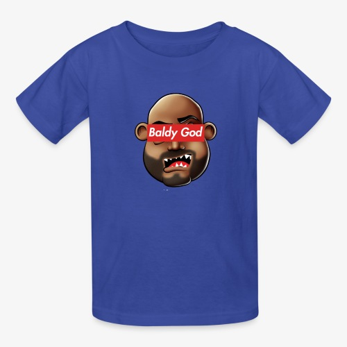 BALDY GOD - Kids' T-Shirt