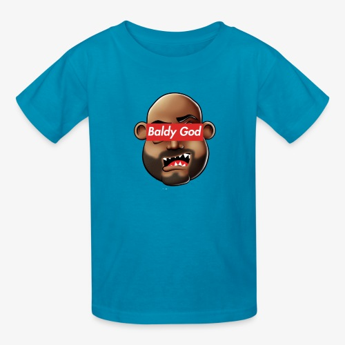 BALDY GOD - Kids' T-Shirt