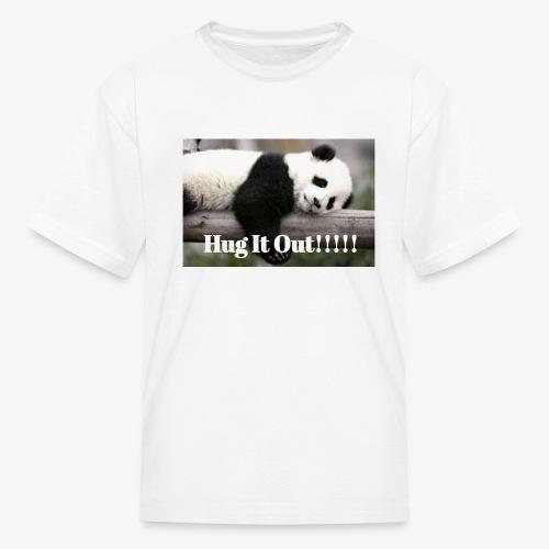 Hug It out Panda Merch - Kids' T-Shirt