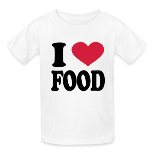 i love food - Kids' T-Shirt