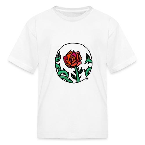 Rose Cameo - Kids' T-Shirt