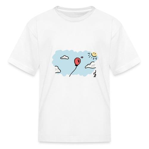 Balloon in Love - Kids' T-Shirt