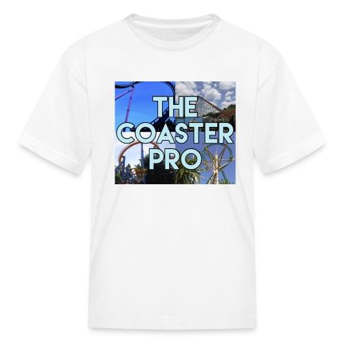 The Coaster Pro 4 Coaster Logo - Kids' T-Shirt