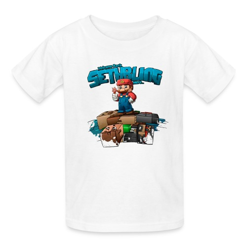 Sethbling Fixed png - Kids' T-Shirt