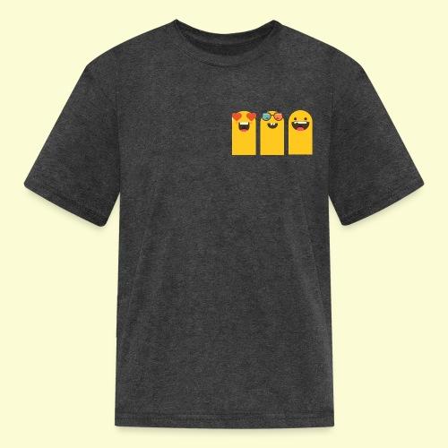 3 yellow stickers - Kids' T-Shirt