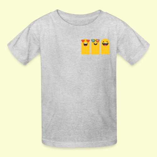 3 yellow stickers - Kids' T-Shirt