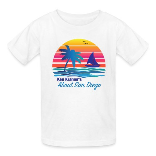 Ken's Exciting Color Logo - Kids' T-Shirt