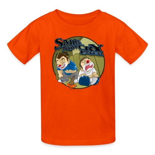 Smile Cry Ice Cream by RollinLow - Kids' T-Shirt
