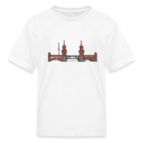 Oberbaum Bridge Berlin - Kids' T-Shirt