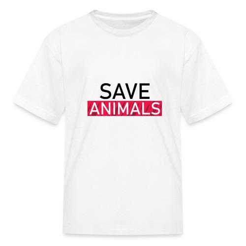 SAVE ANIMALS - Kids' T-Shirt