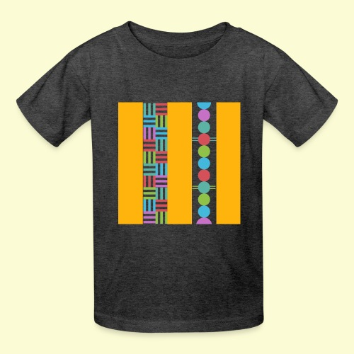 colourful and playful patterns - Kids' T-Shirt