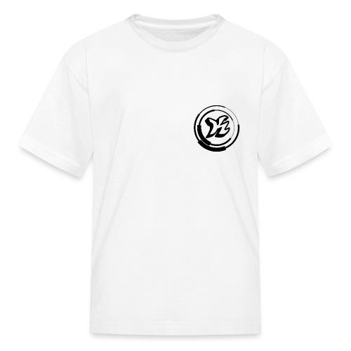 Kwozi Logo (WHITE ONLY) - Kids' T-Shirt