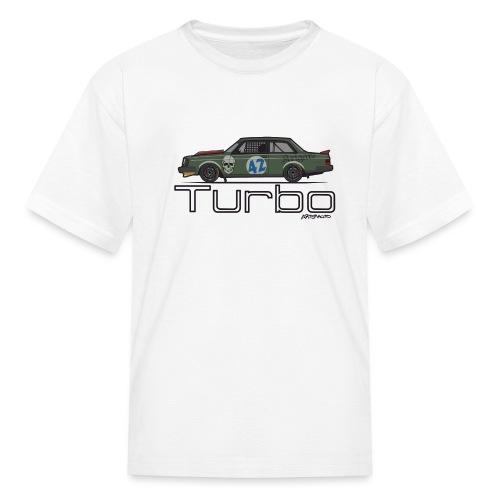240 Turbo Track Car - Kids' T-Shirt