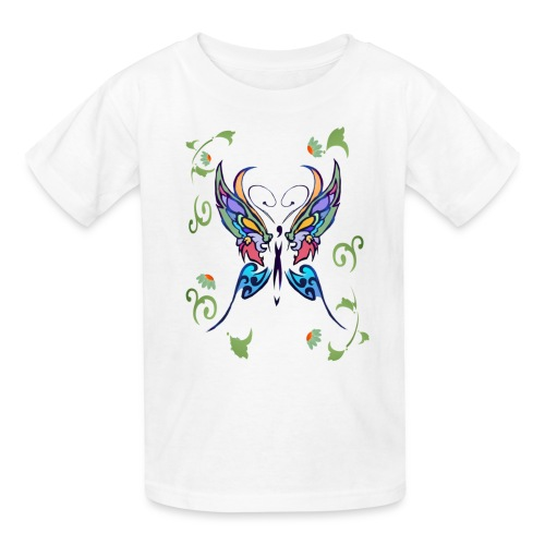 Bright Butterfly - Kids' T-Shirt