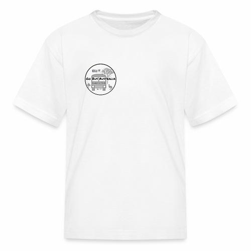Go Bus Australia - Standard Logo Range - Kids' T-Shirt